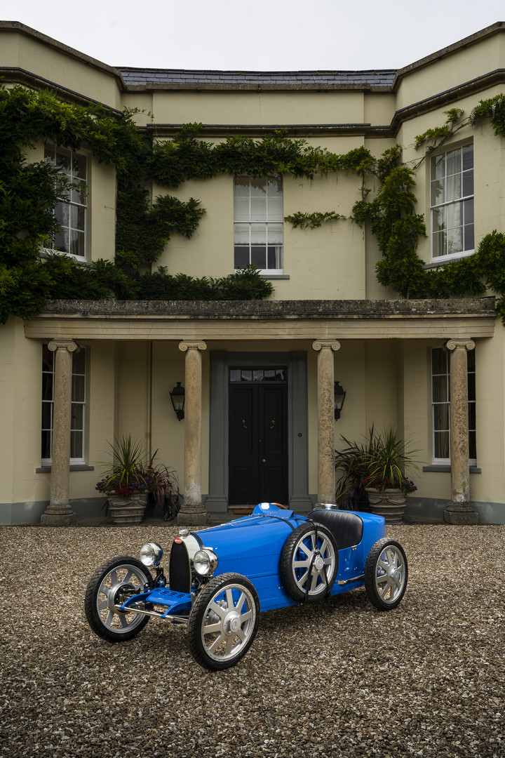 Bugatti Baby II Blue