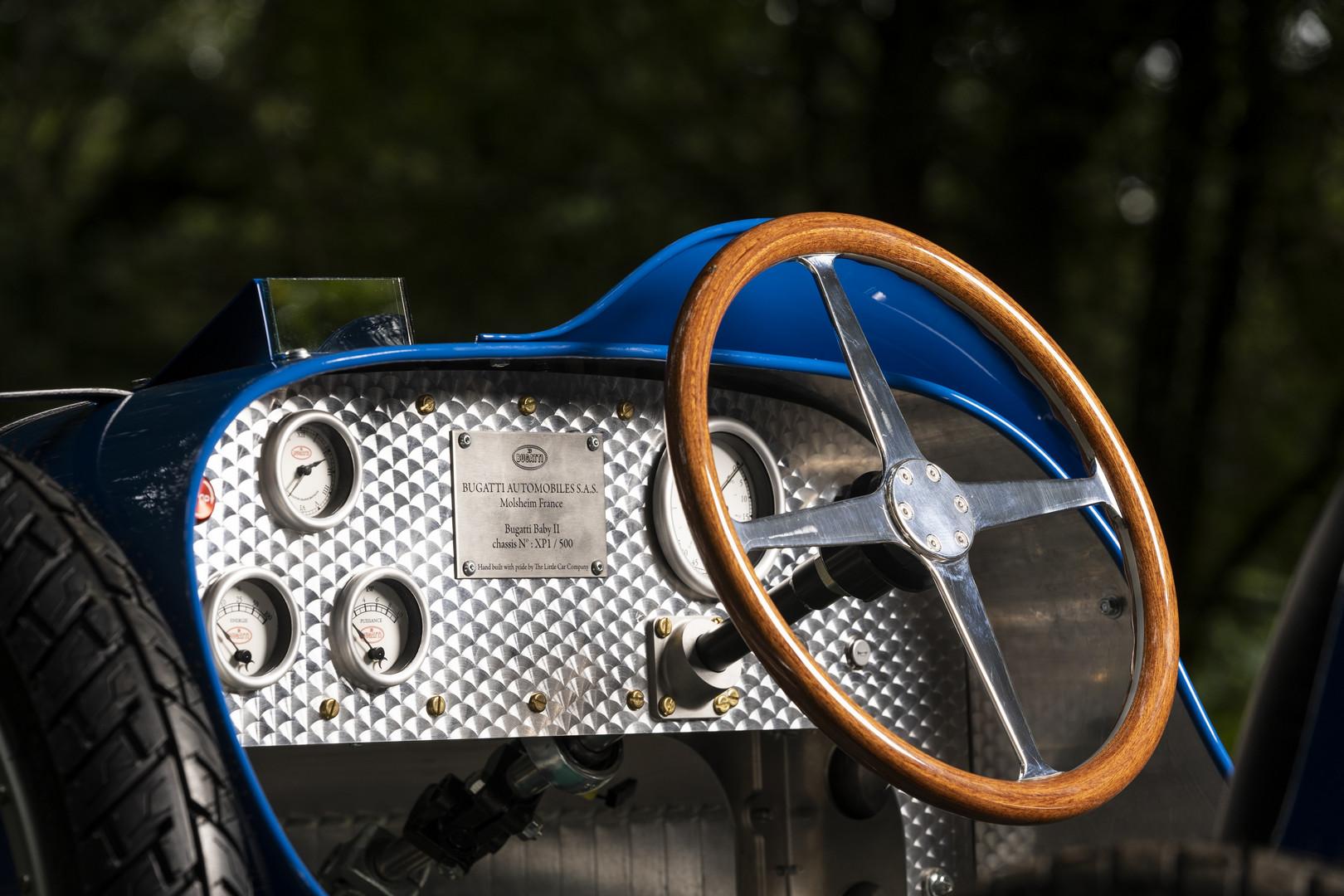 Bugatti Baby II Interior