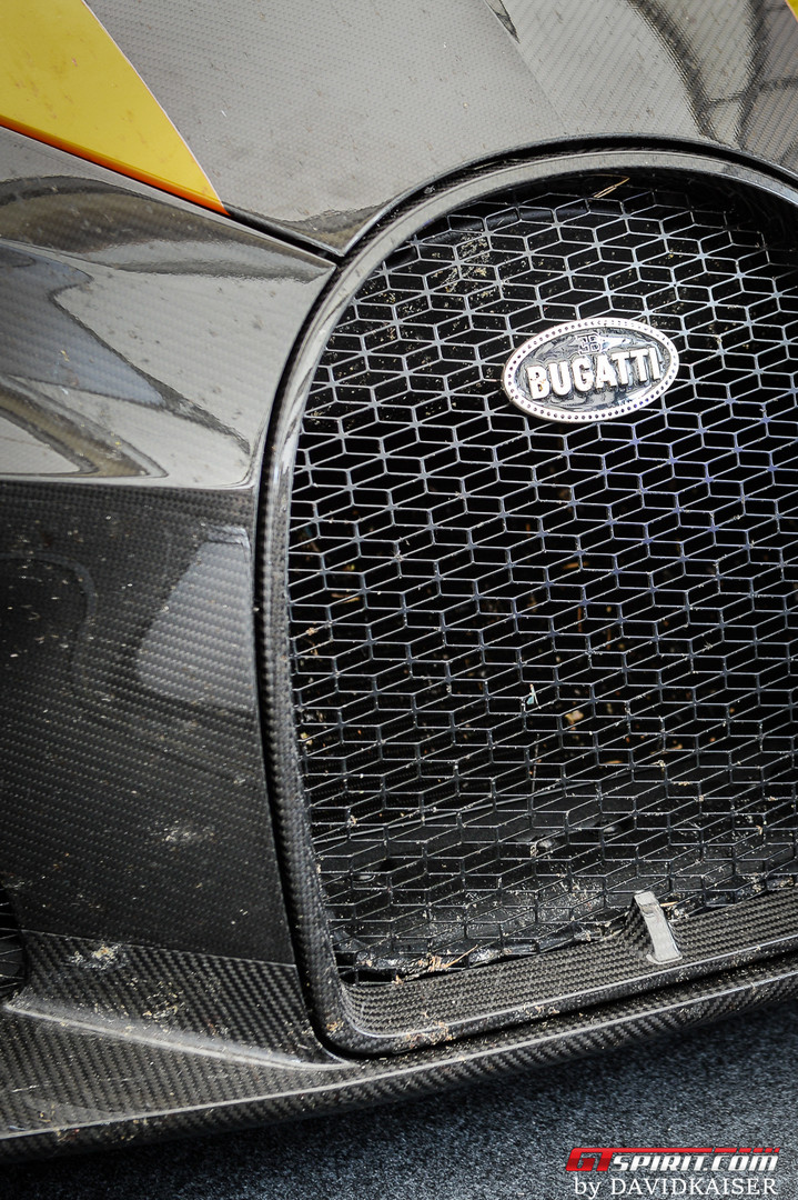 Bugatti Chiron Super Sports 300+ Grille