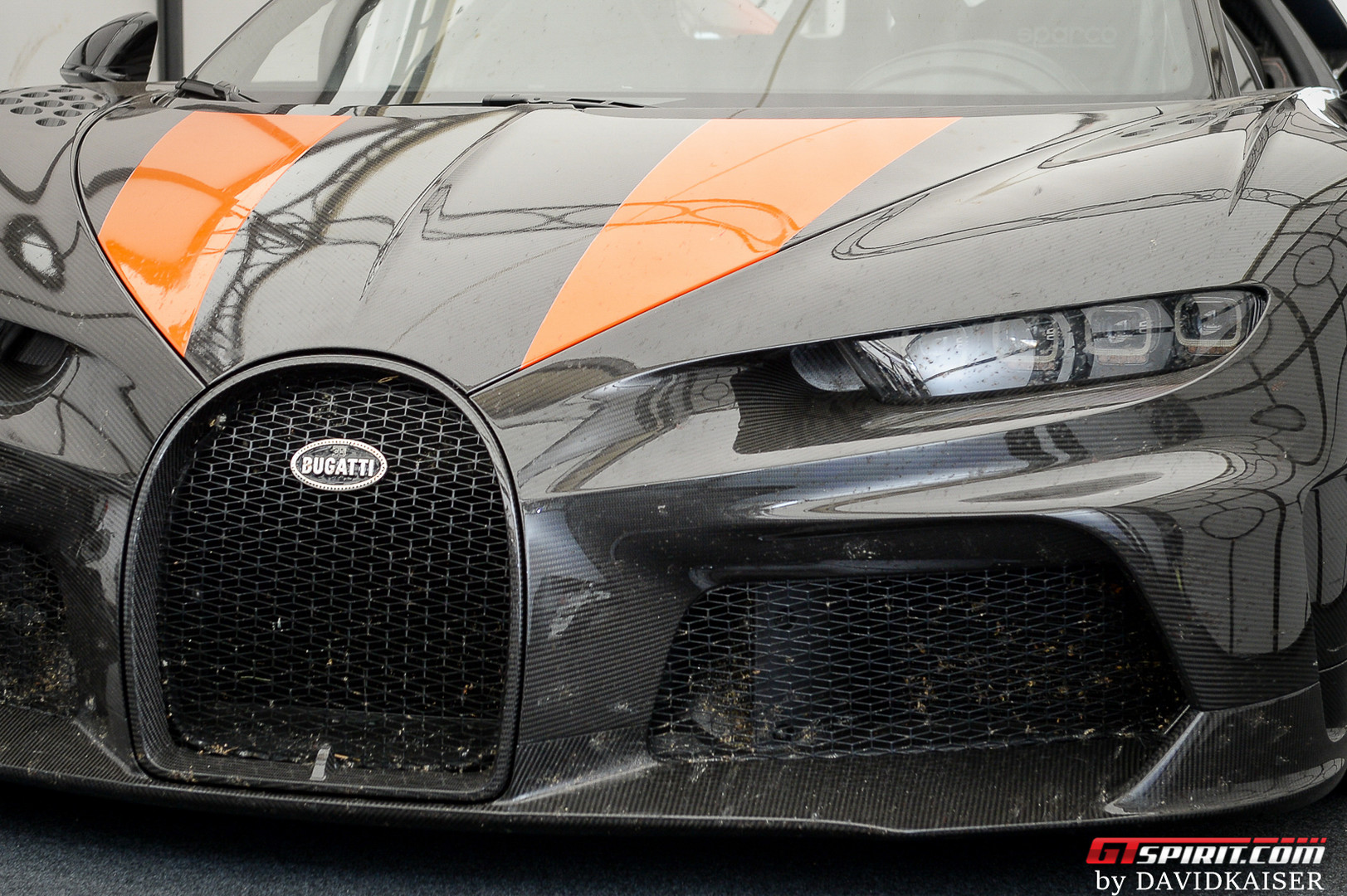 Bugatti Chiron Super Sports 300+ Headlights