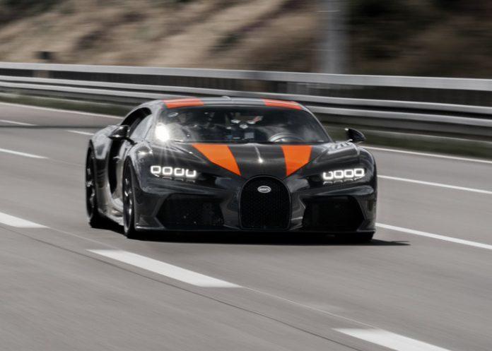 Bugatti Chiron Top Speed 300mph