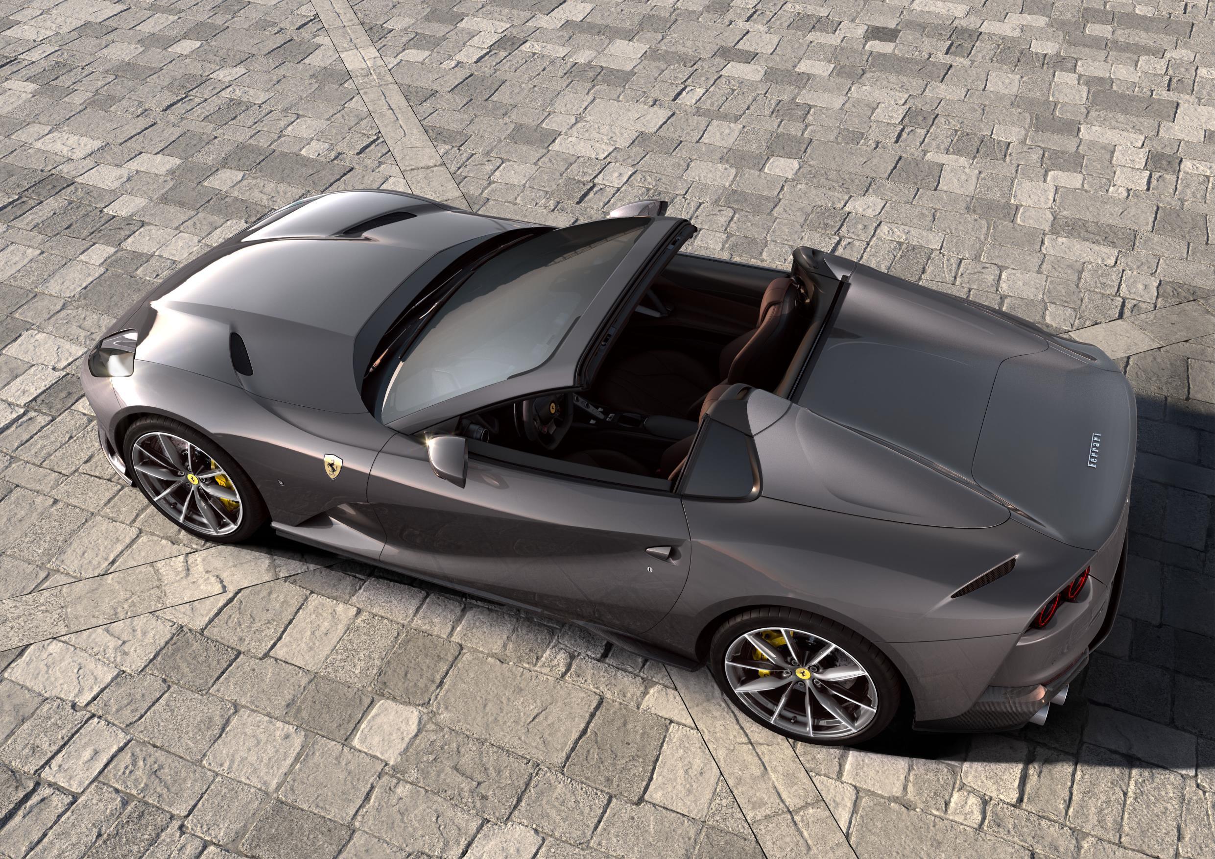 Ferrari 812 GTS Grey