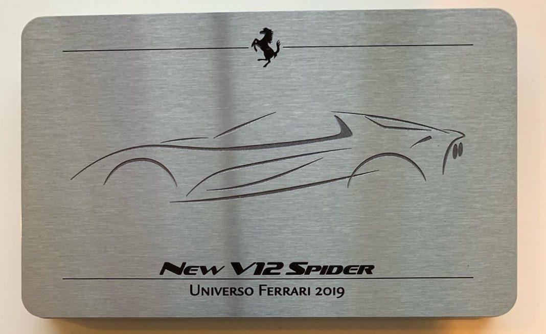Ferrari V12 Spider