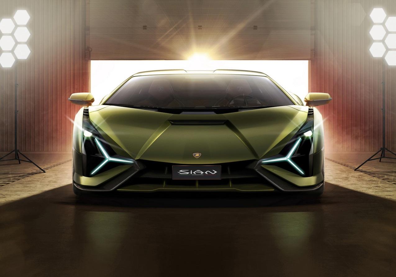 Lamborghini Sian Front Lights