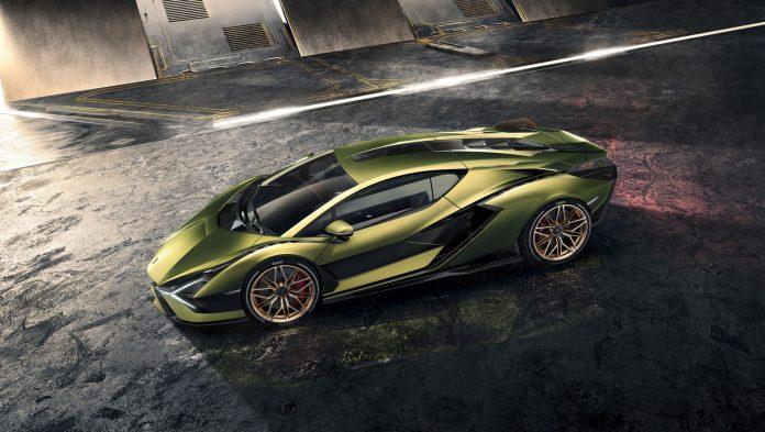Lamborghini Sian Green