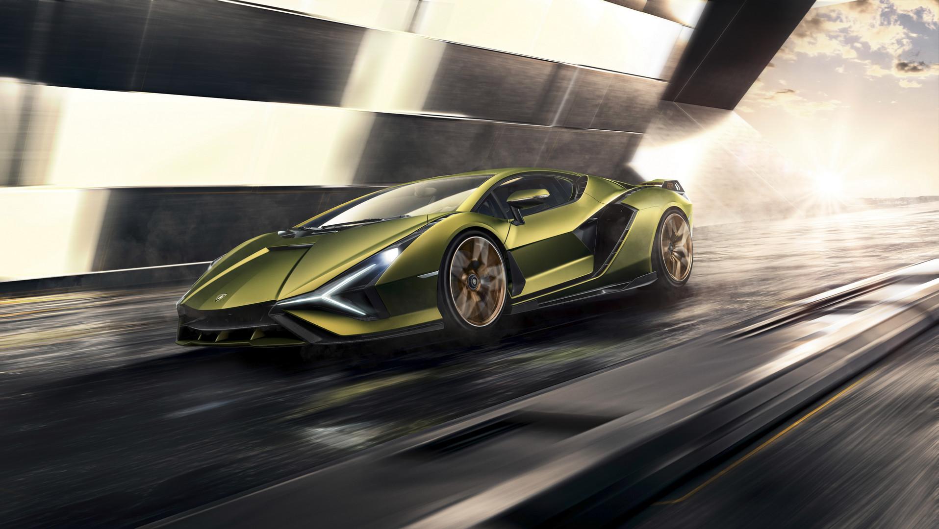 Lamborghini Sian Price