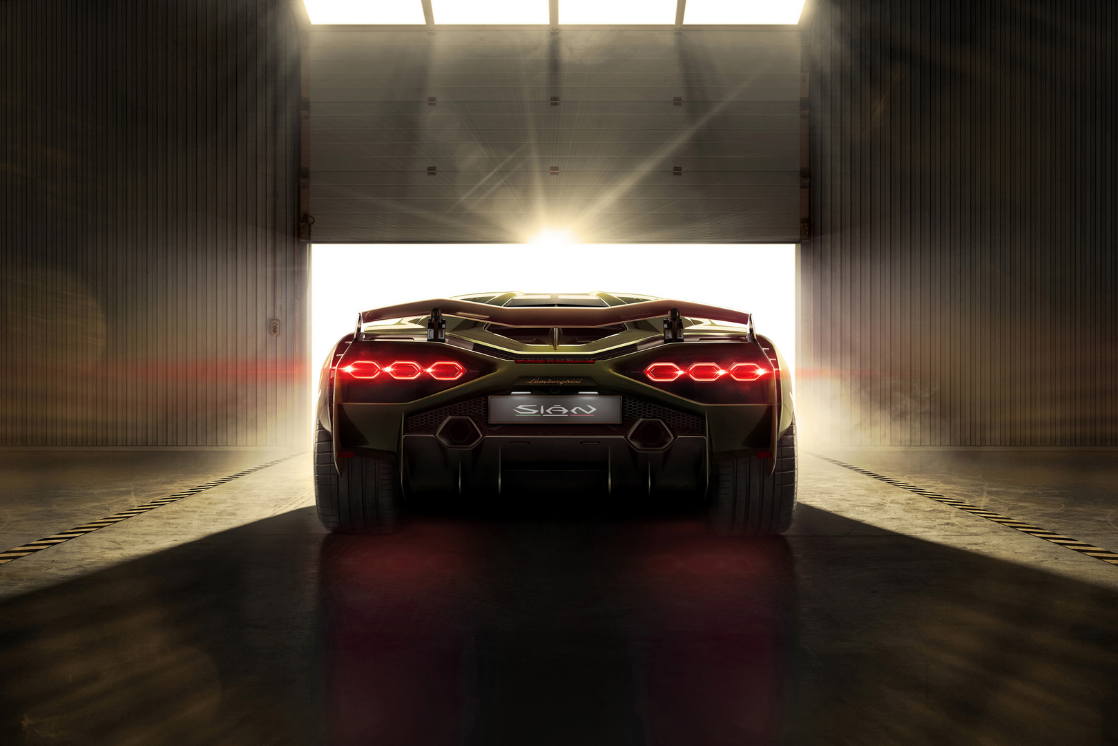 Lamborghini Sian Rear Lights