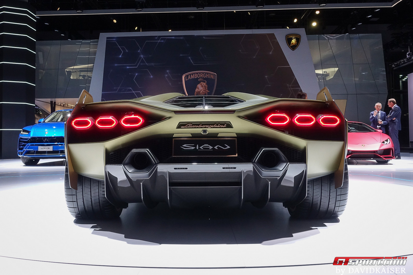 Lamborghini Sian Rear View