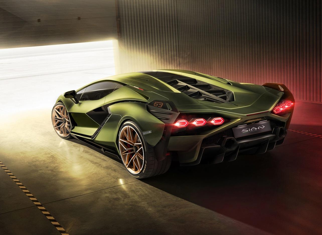 Lamborghini Sian Rear