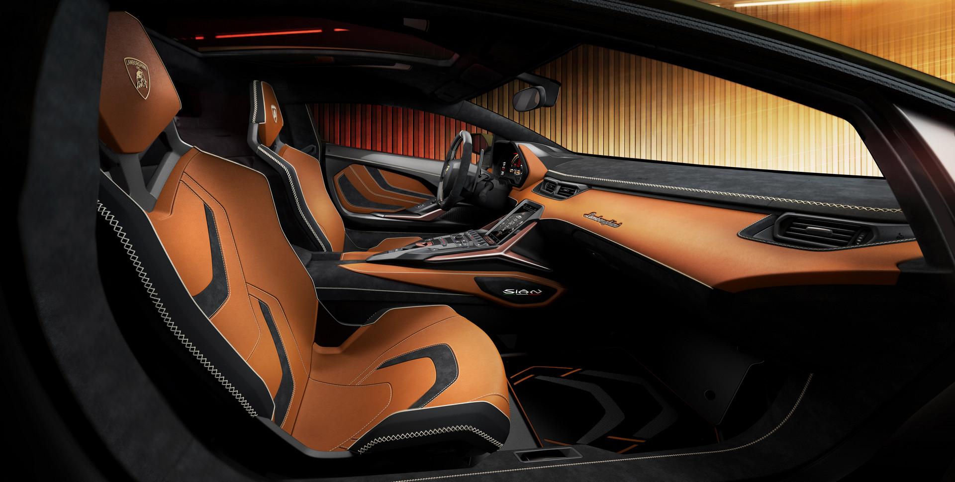 Lamborghini Sian Seats