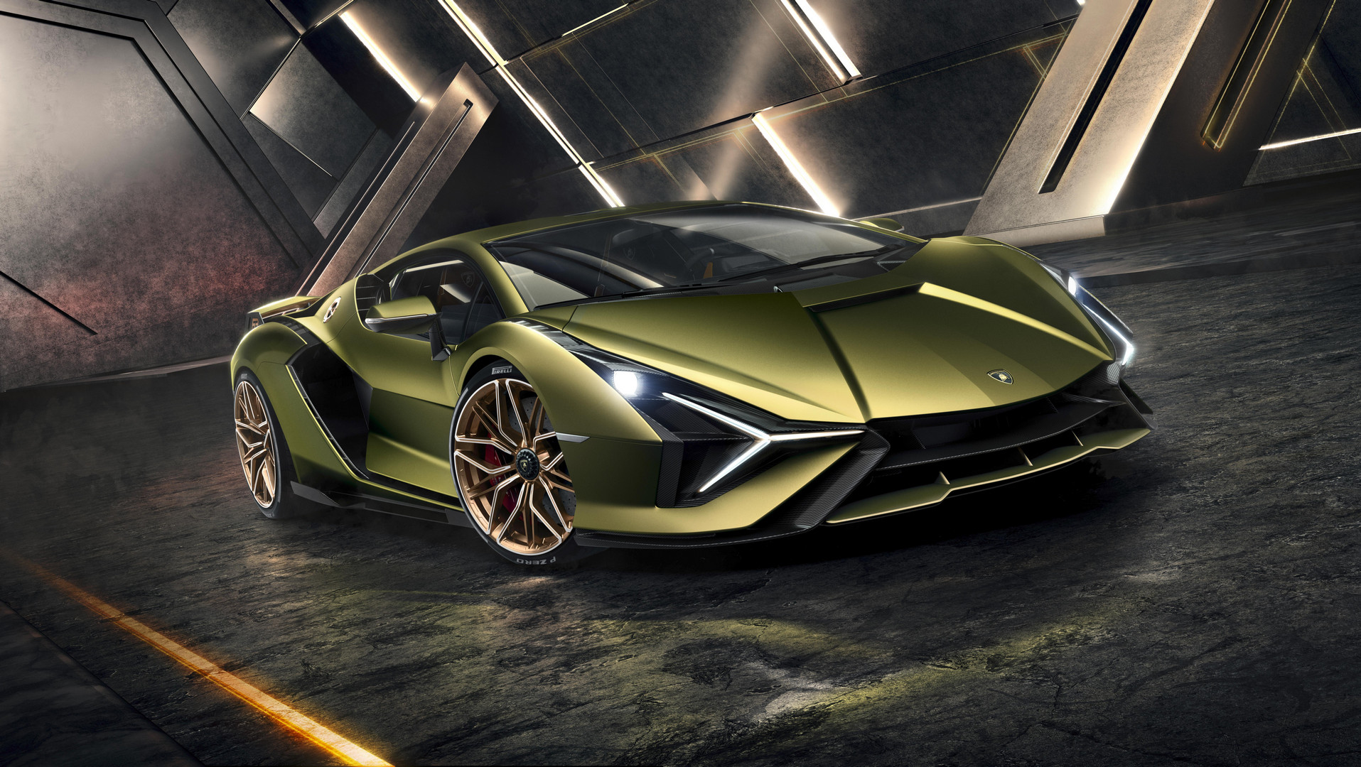 Lamborghini Sian Wallpaper