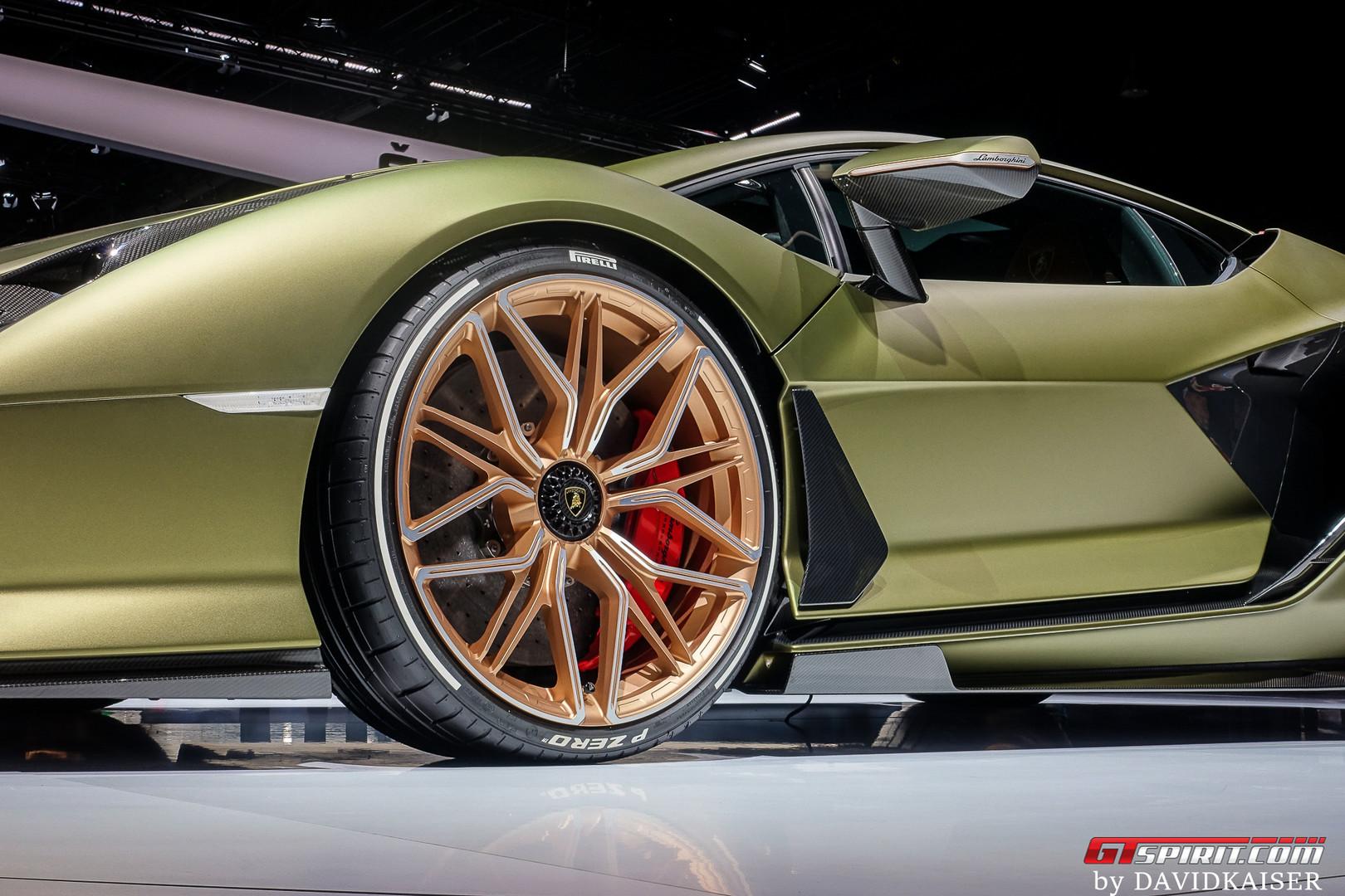 Lamborghini Sian Wheels