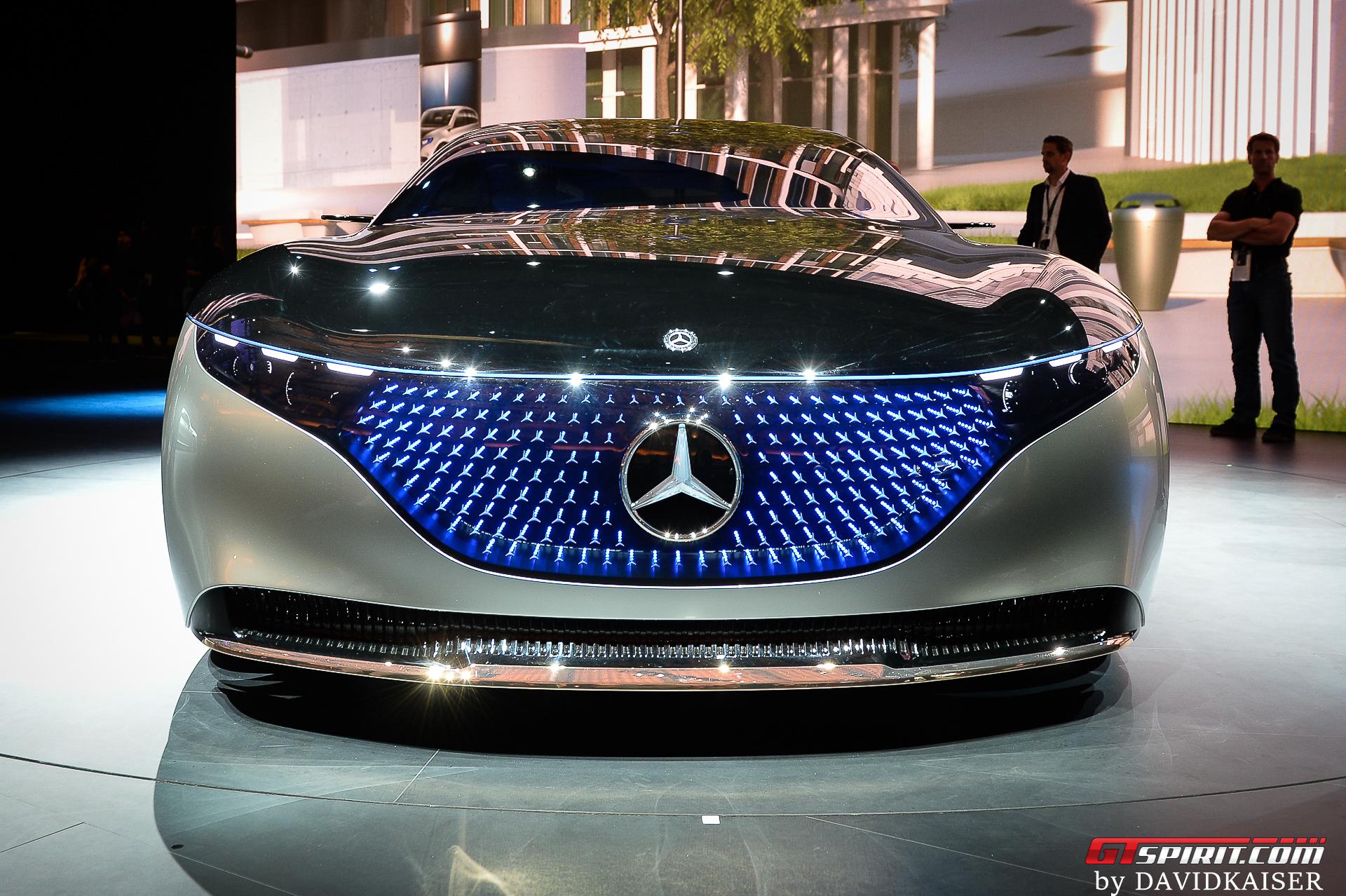 Mercedes-Benz EQS Front