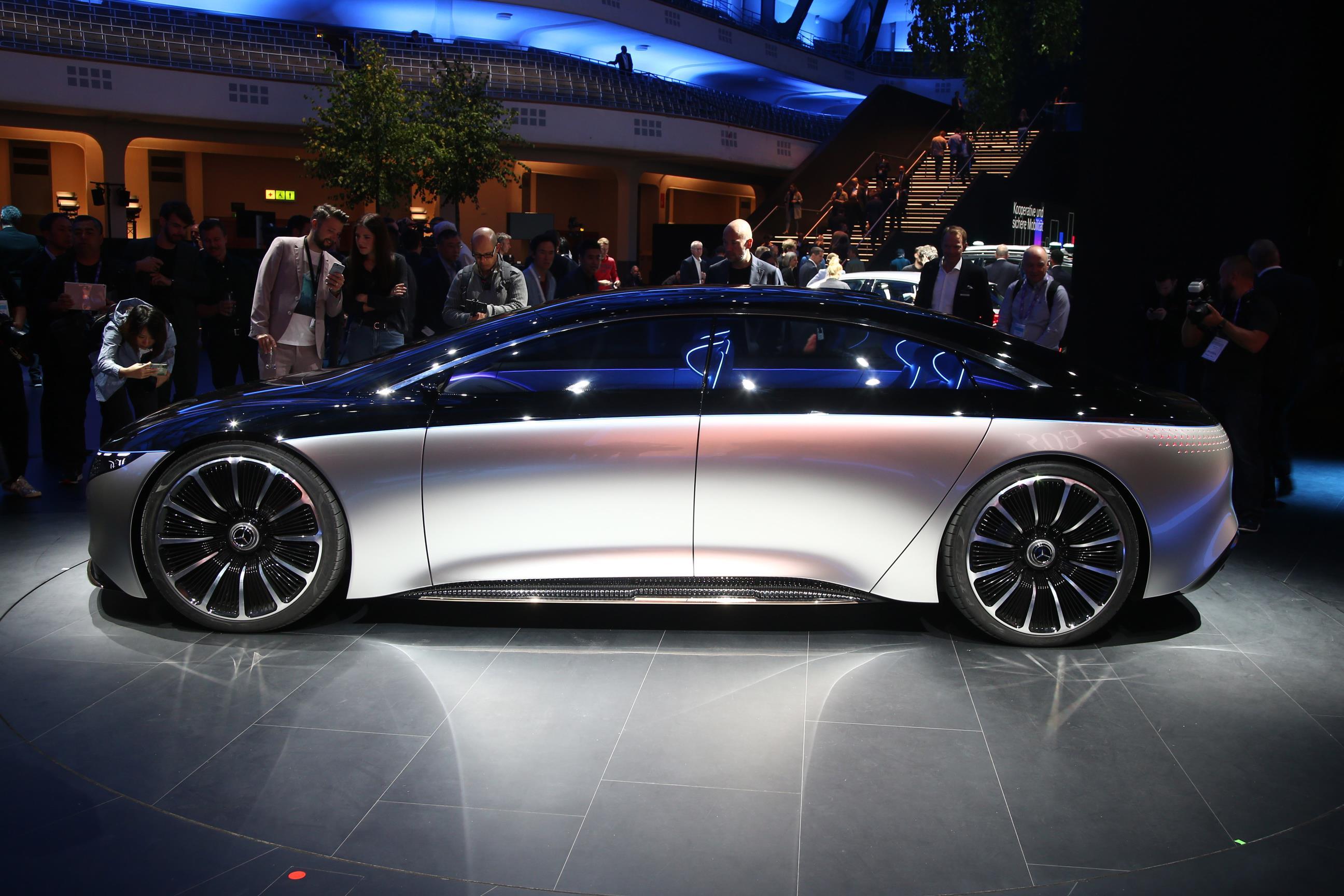 Mercedes-Benz EQS Side