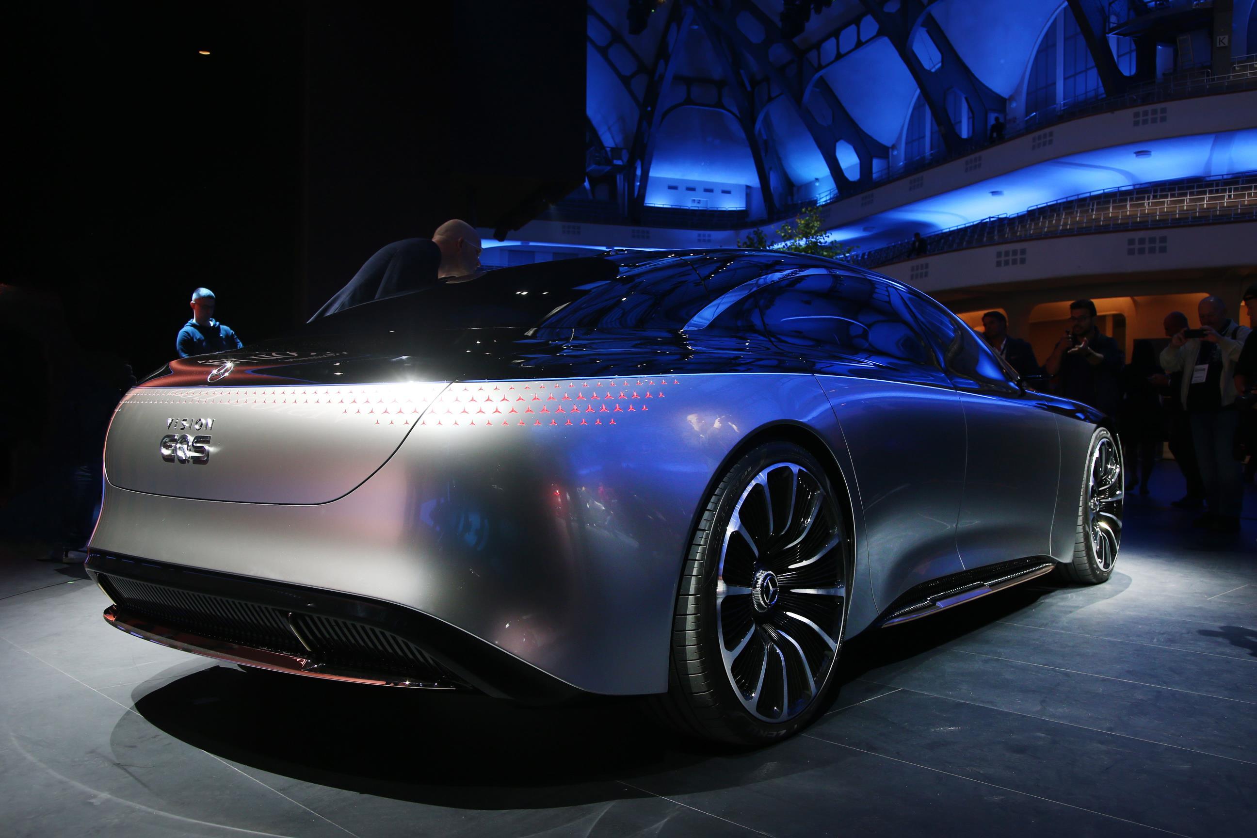 Mercedes-Benz EQS Specs