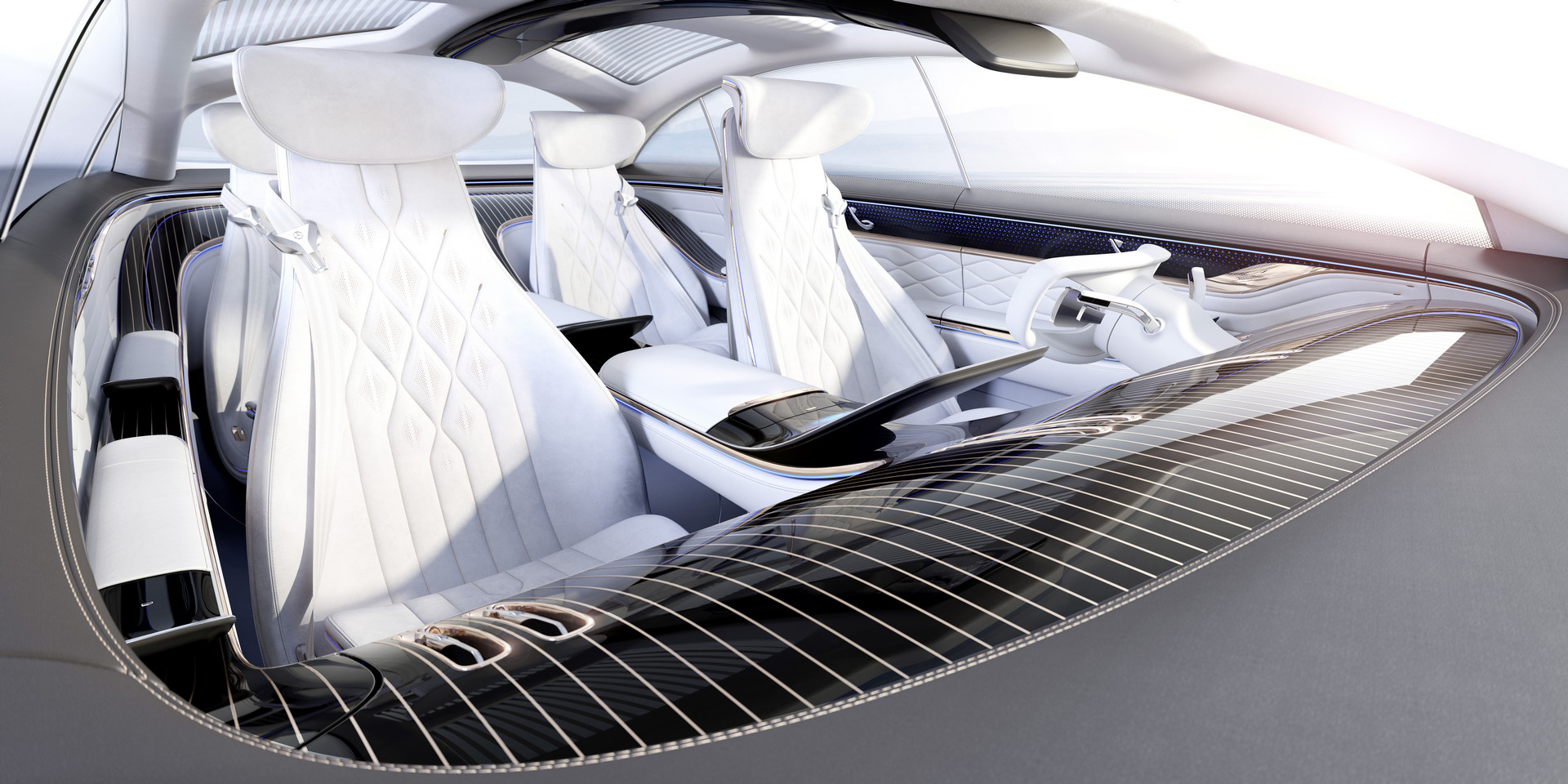 Mercedes-Benz VISION EQS Cockpit