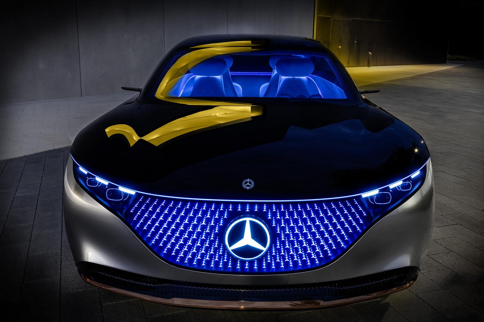 Mercedes-Benz VISION EQS Front