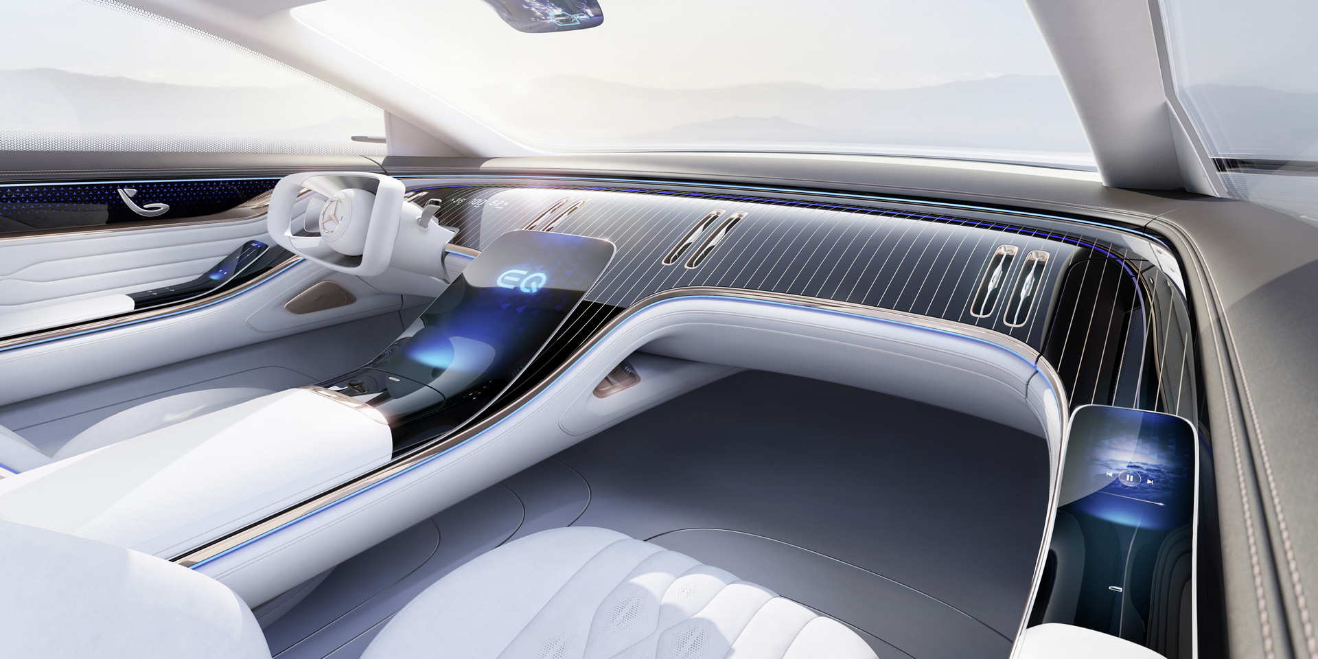 Mercedes-Benz VISION EQS Interior