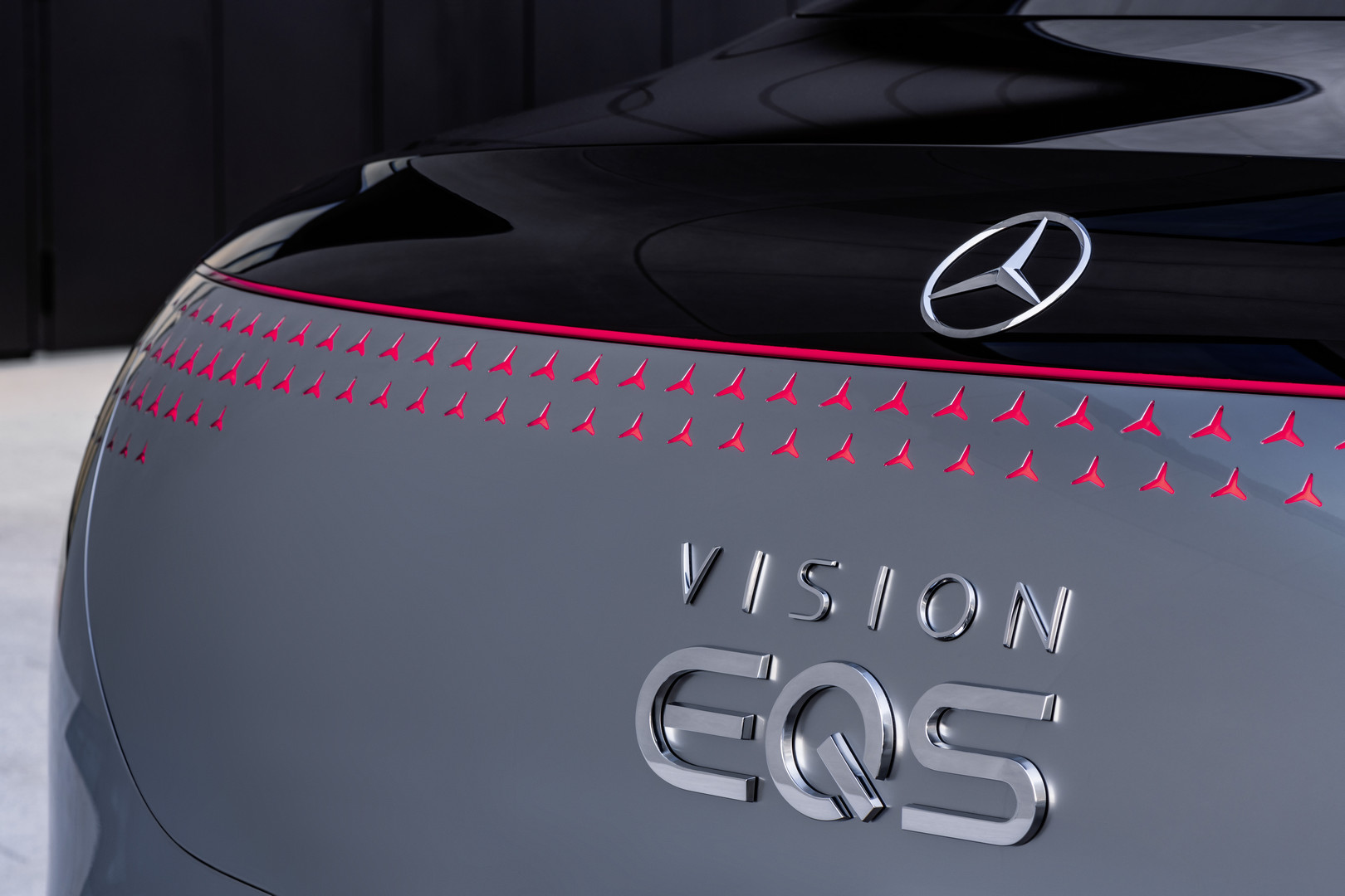 Mercedes-Benz VISION EQS Lights