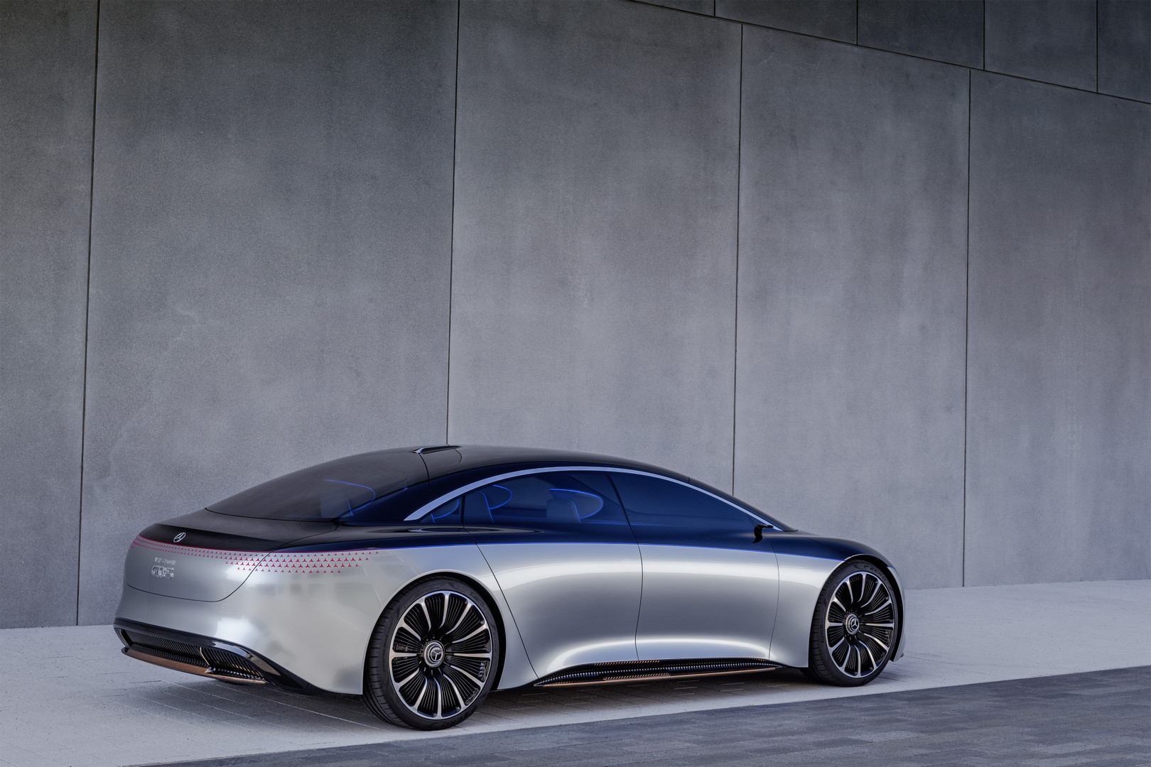 Mercedes-Benz VISION EQS Rear Side