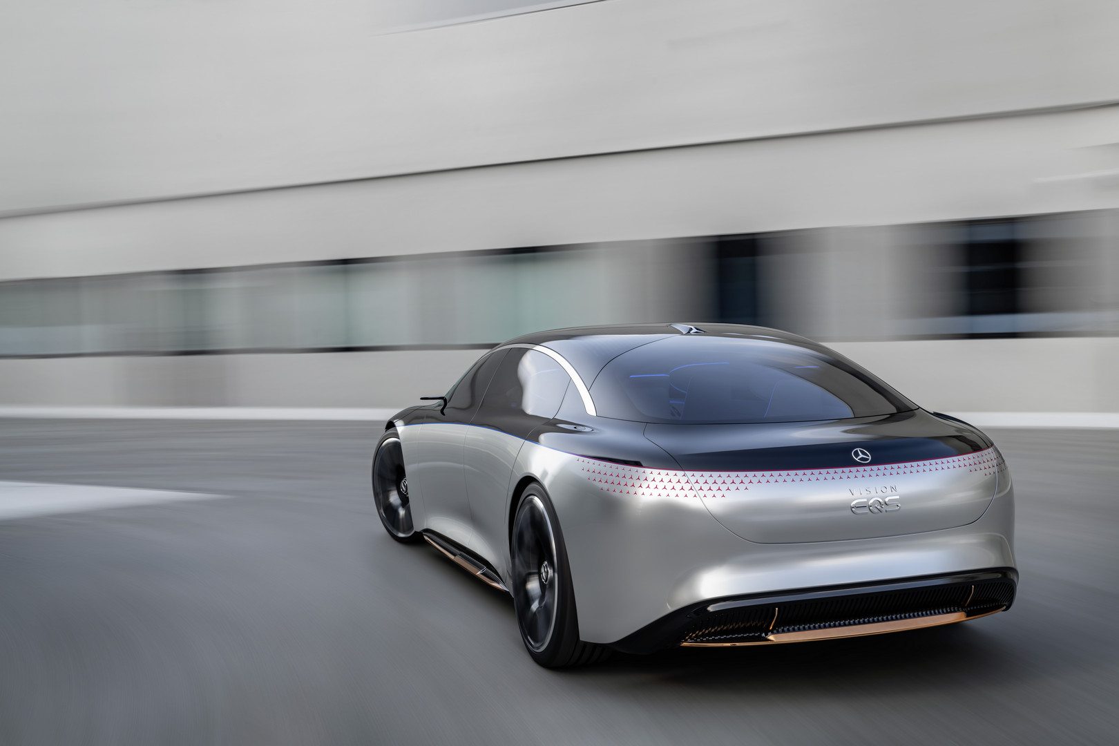 Mercedes-Benz VISION EQS Rear
