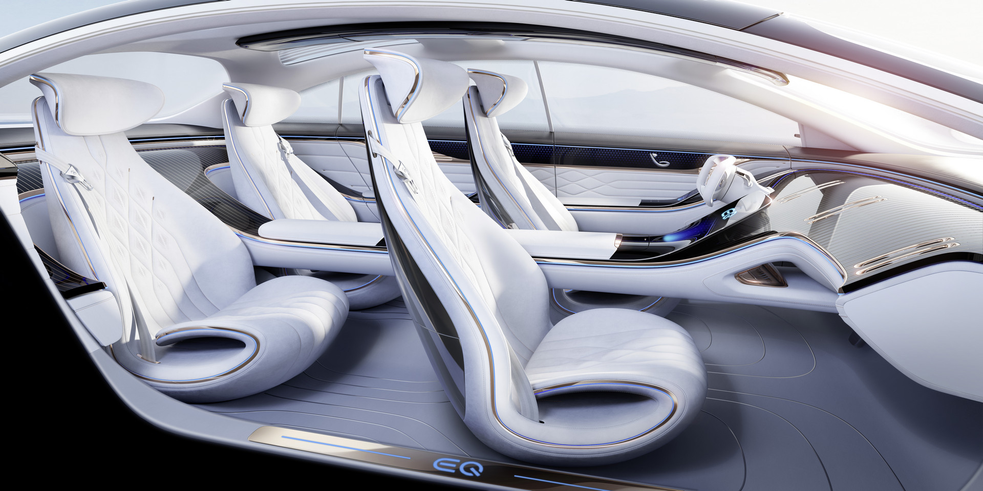 Mercedes-Benz VISION EQS Seats
