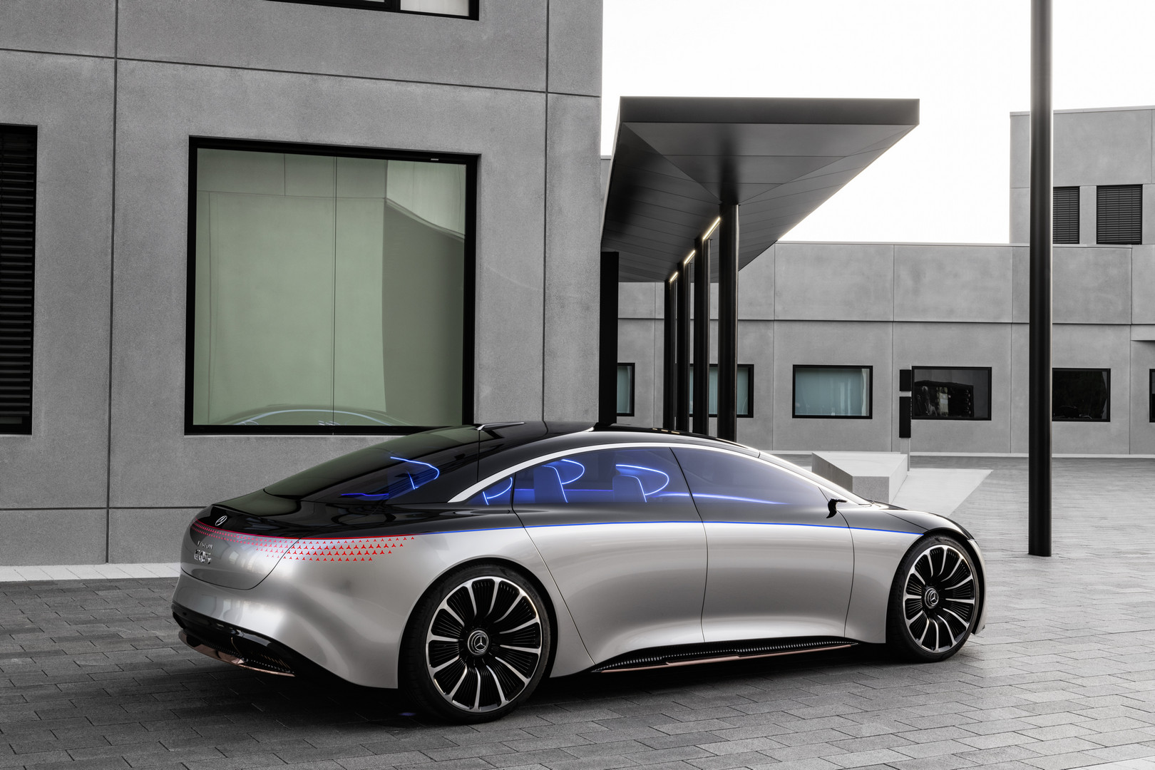 Mercedes-Benz VISION EQS Side View