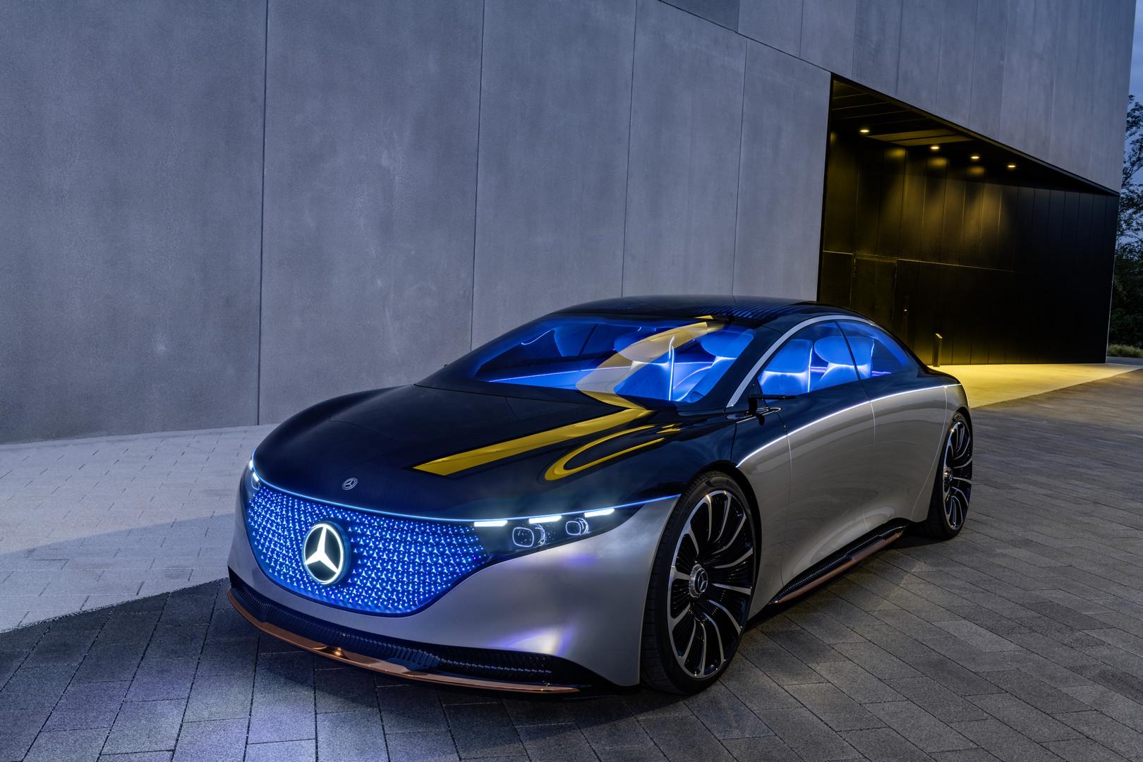 Mercedes-Benz VISION EQS Specs