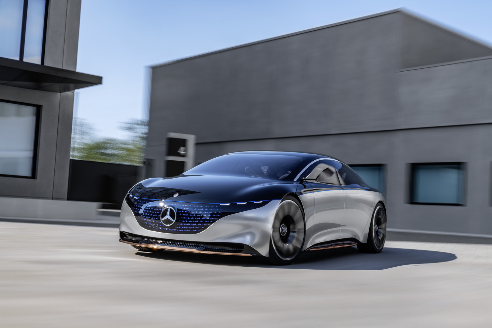 Mercedes-Benz VISION EQS Wallpaper