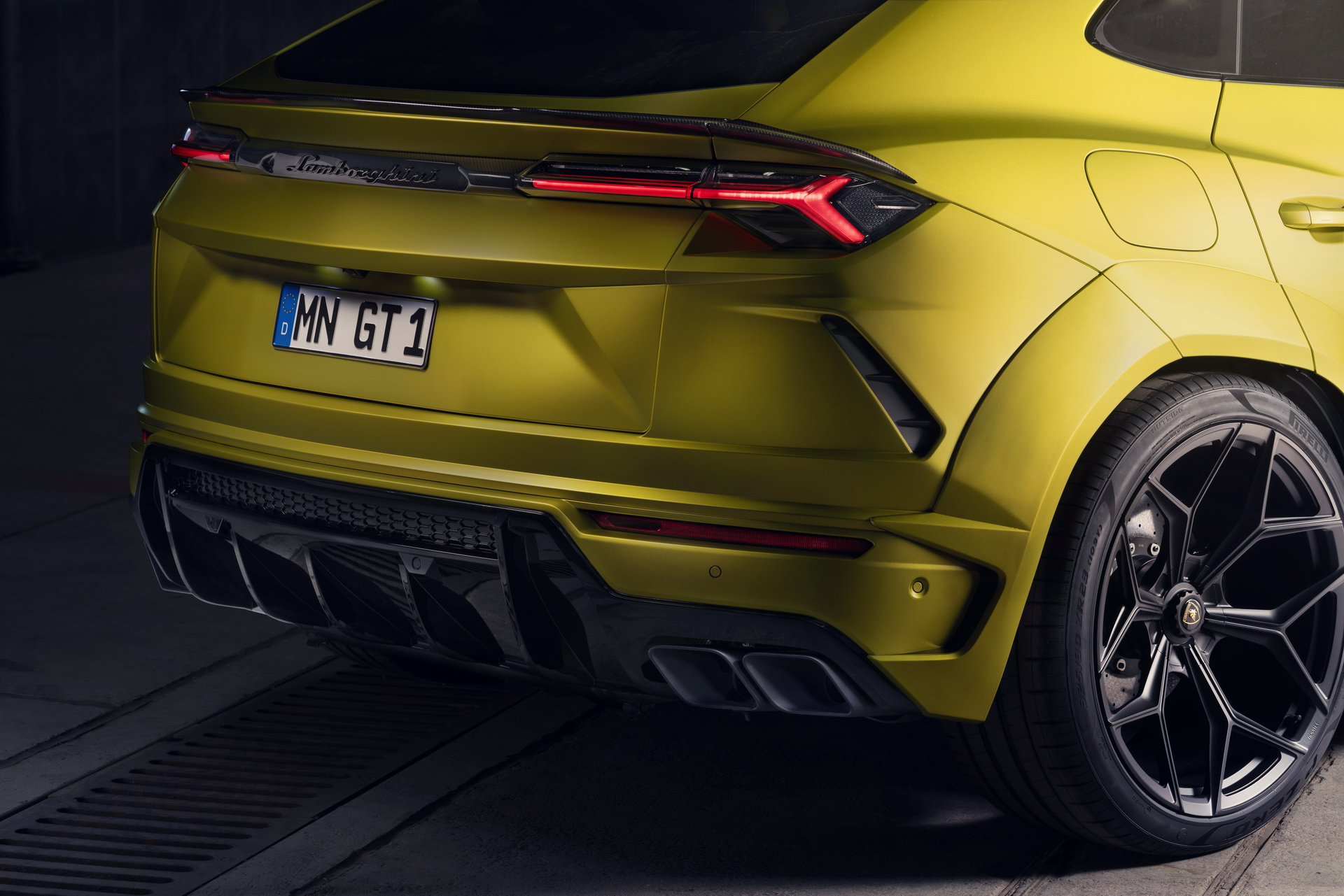 Novitec Lamborghini Urus Yellow