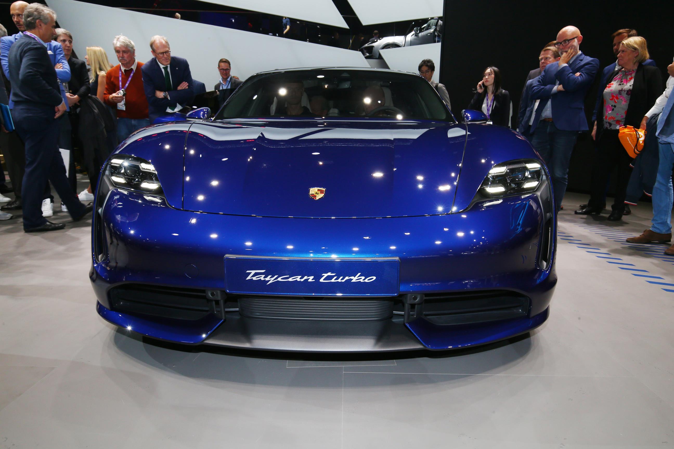 Porsche Taycan Turbo Front