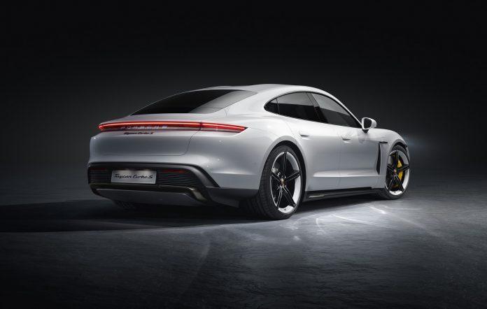 Porsche Taycan Turbo S Rear