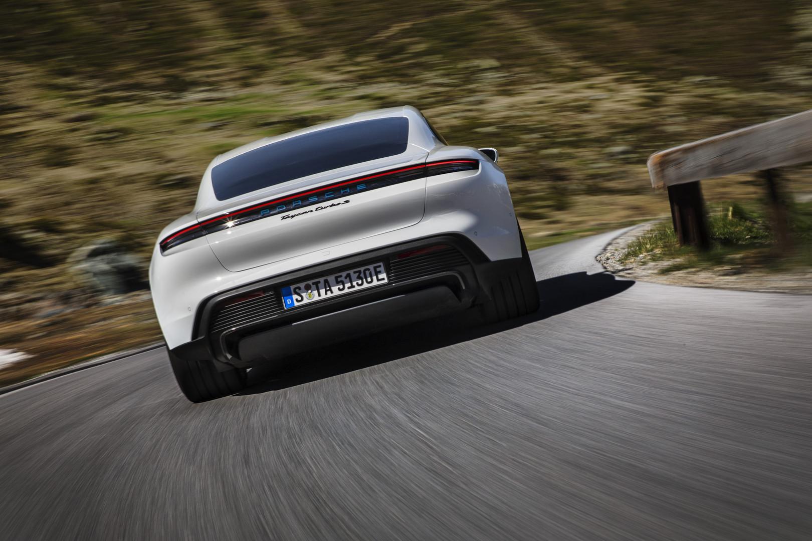 Porsche Taycan Turbo S Range