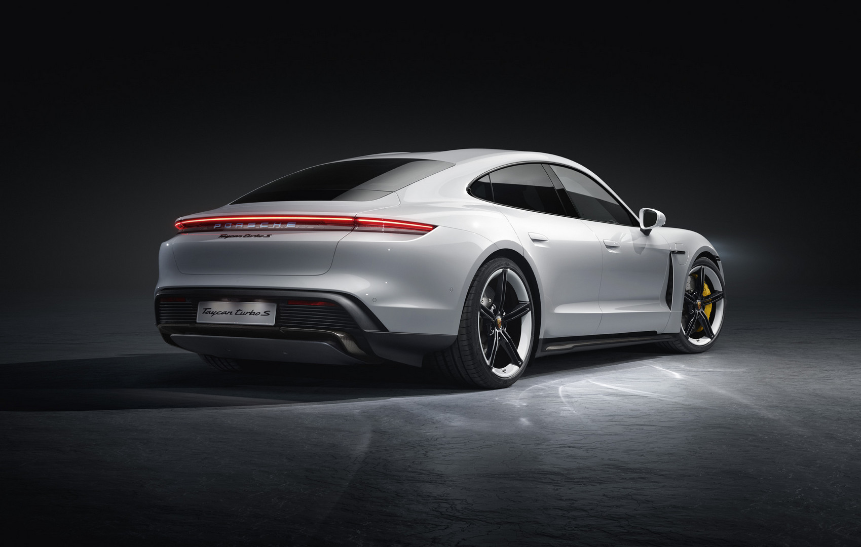 Porsche Taycan Turbo S Rear