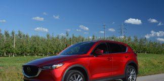 Red 2019 Mazda CX5