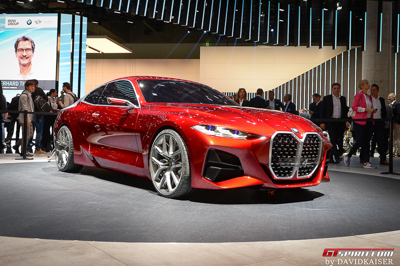 Red BMW Concept 4