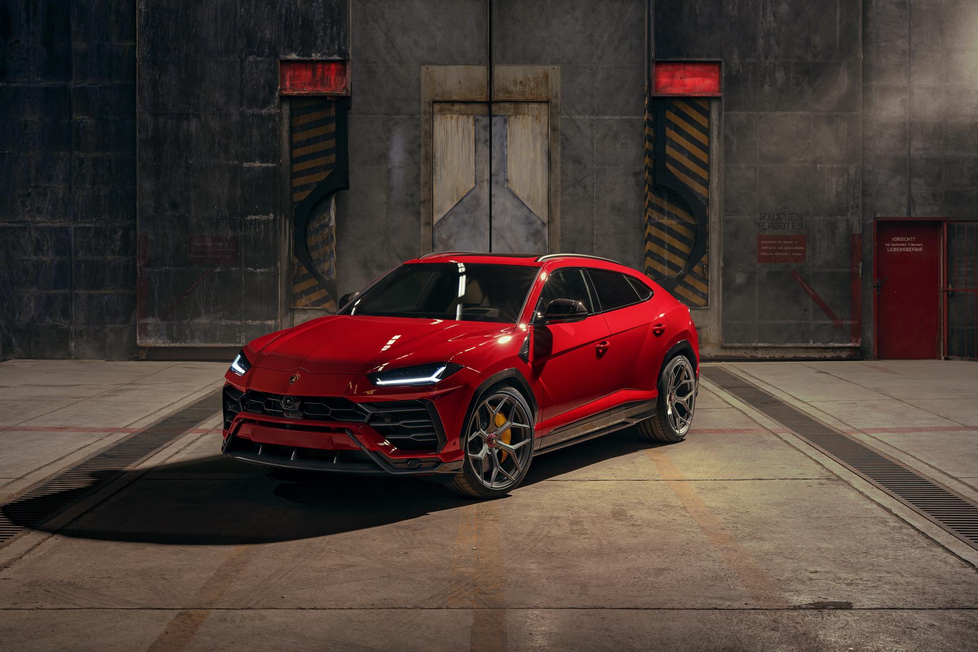 Red Novitec Lamborghini Urus