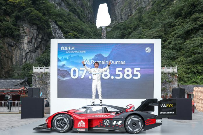 VW ID.R China Record