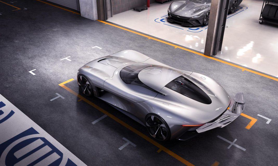 Jaguar Vision Gran Turismo Roof