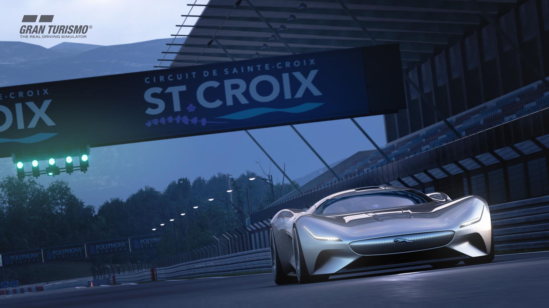 Jaguar Vision Gran Turismo Top Speed