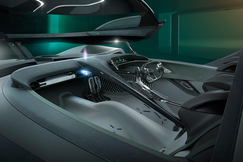 Jaguar Vision Gran Turismo Interior