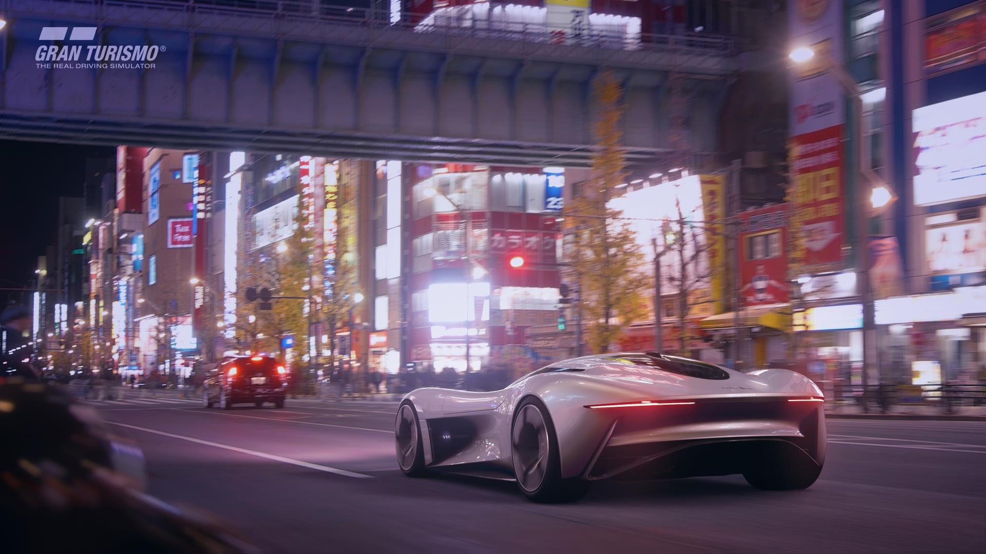 Jaguar Vision Gran Turismo Rear Lights