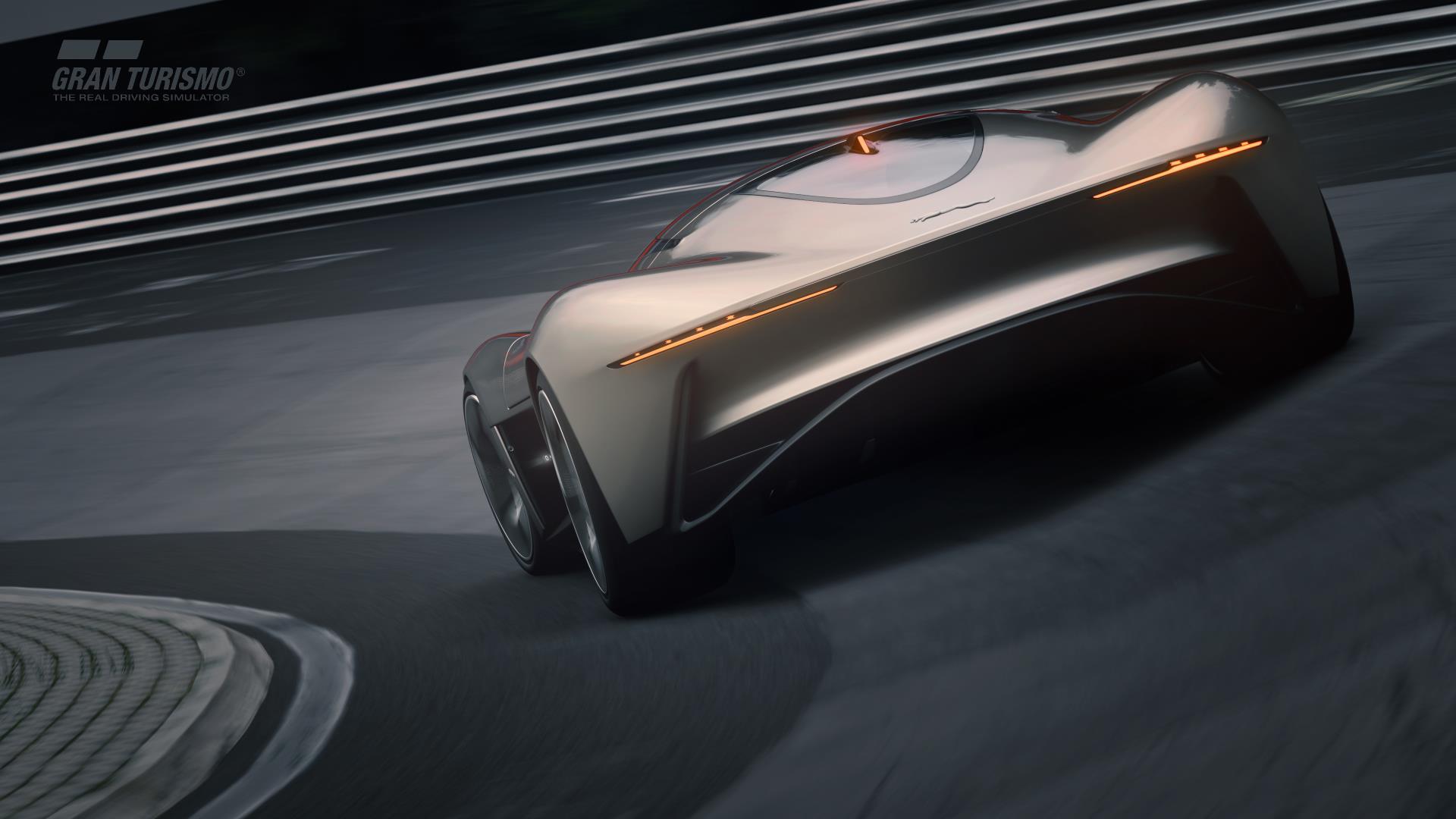 Jaguar Vision Gran Turismo Rear