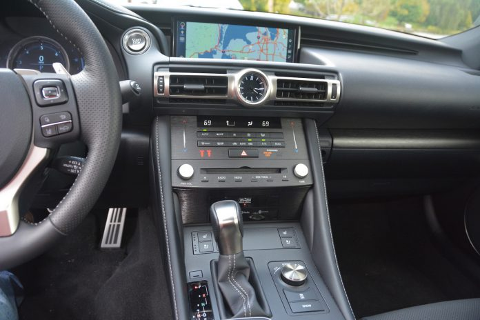 2019 Lexus RC 350 F-Sport Interior
