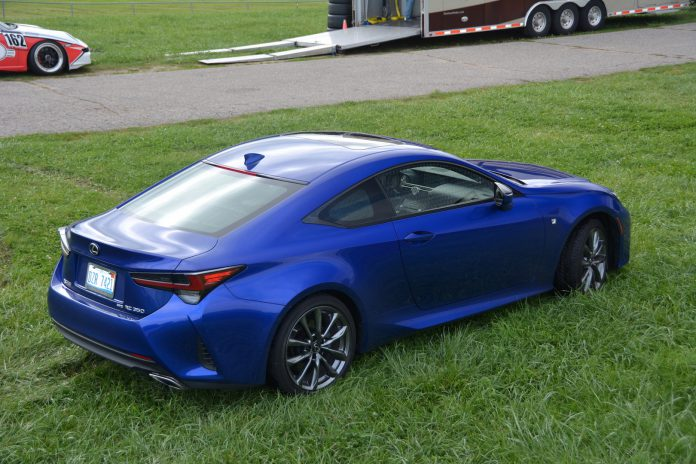 2019 Lexus RC 350 F-Sport Rear