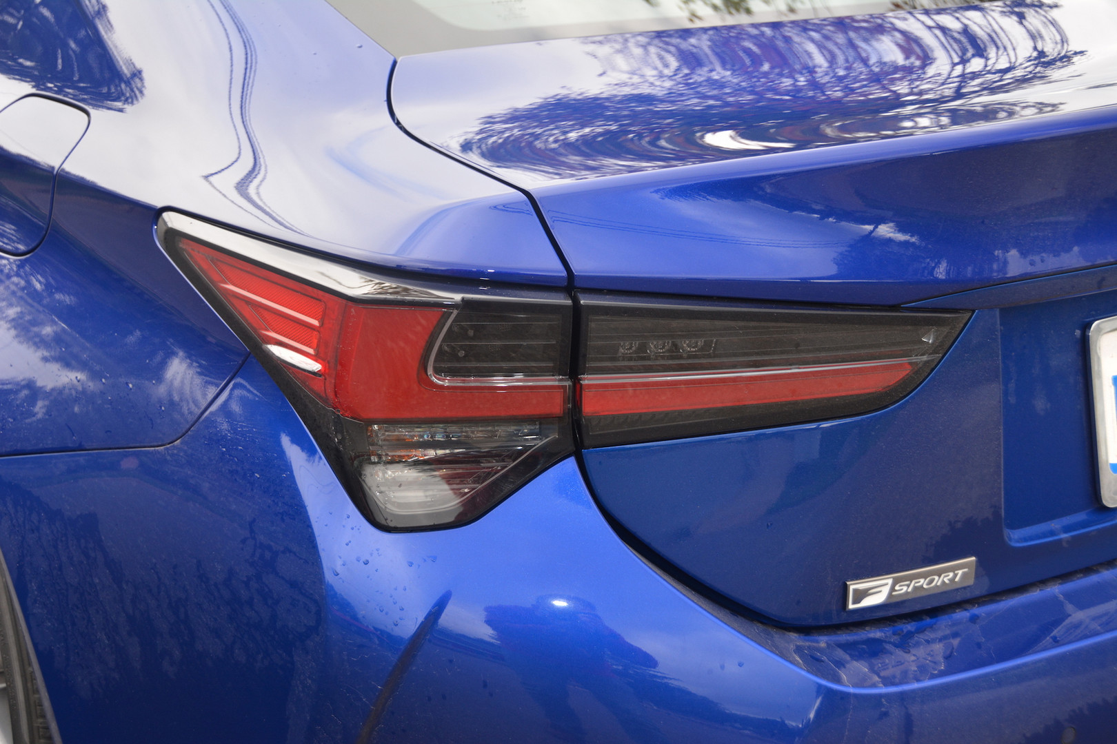 2019 Lexus RC 350 F-Sport Rear Light