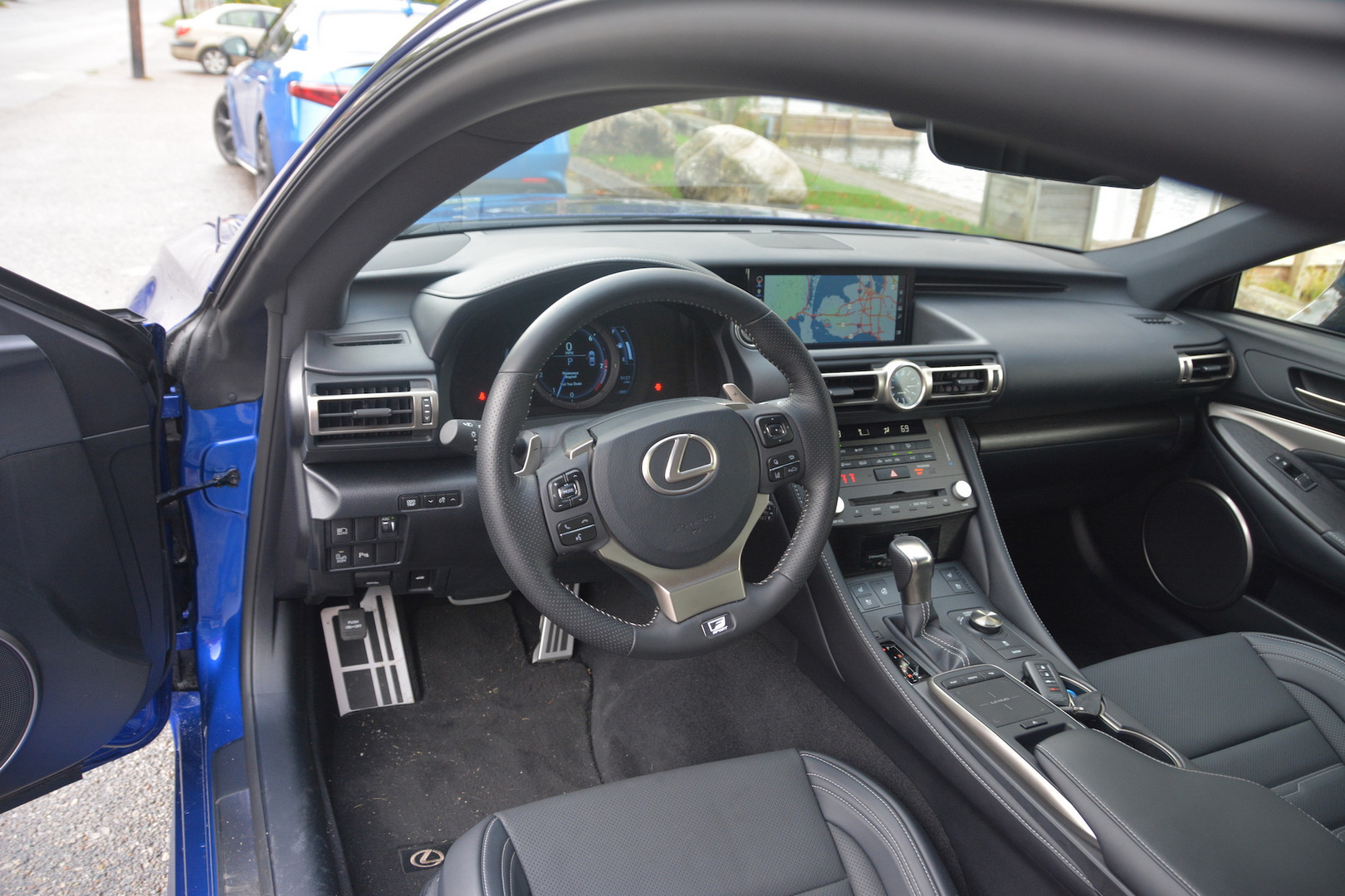 2019 Lexus RC 350 F-Sport Steering Wheel