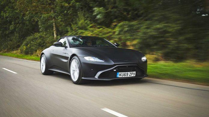 2020 Aston Martin Vantage Roadster Black
