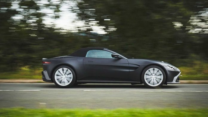 2020 Aston Martin Vantage Roadster Side