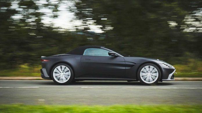 2020 Aston Martin Vantage Roadster Side